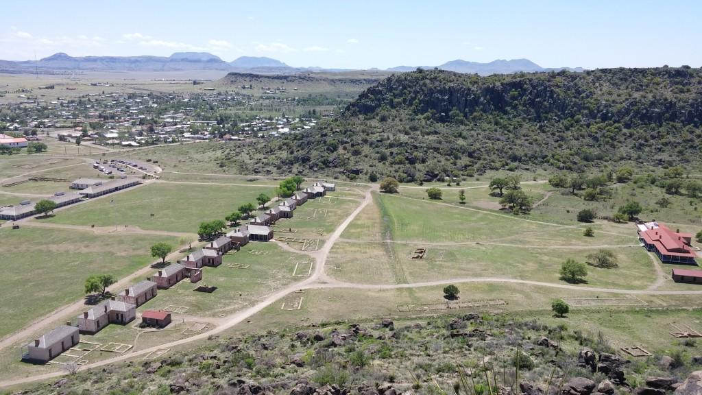 Overlooking Fort Davis