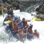 Whitewater Raft Trinity River
