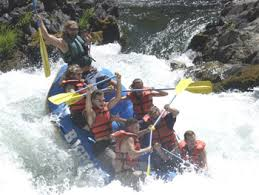 Whitewater Raft Trinity River