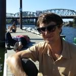 Chillin on the dock.... pre-swim