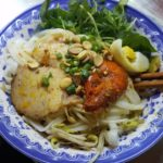 Bun ca....Cool and refreshing dry noodles with fish cake, shrimp and other various seasonings that magically come together to create another delicious dish.