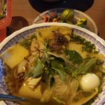 Hu Tieu. This is straight up Vietnamese comfort food right here.  The broth is to die for...
