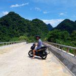 Scenic drive, best experienced via motorbike.