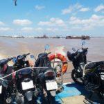 Motorbike on ferry