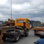 Heavy traffic in Hai Phong