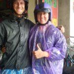 Riding in Rain Gear