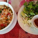 Laotian noodle soup....soooo yummy.