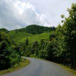 Laos, viewed best via motorbike.