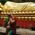Me and reclining Buddha.  Zzzzz