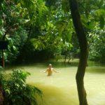Swimming pool at upper falls