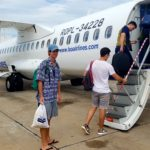 Boarding our plane to Siem Reap