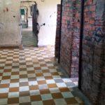 Brick prison cells