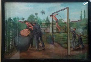 Illustration of torture