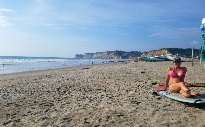 Canoa – Beach Bumming :)